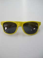 Blues Brothers Glasses Yellow - Novelty Glasses